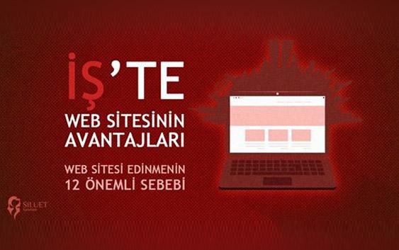 İş'te, Web Sitesinin Avantajları: Silüet web ve grafik tasarım ajansı