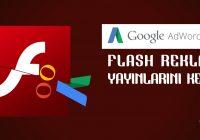 Google Adwords Flash Reklamları Durduruyor!